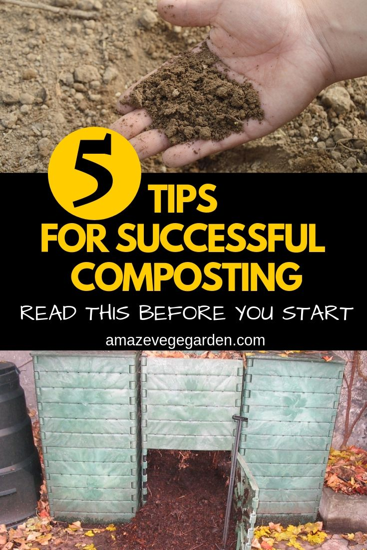 5 Top Tips for Successful Composting