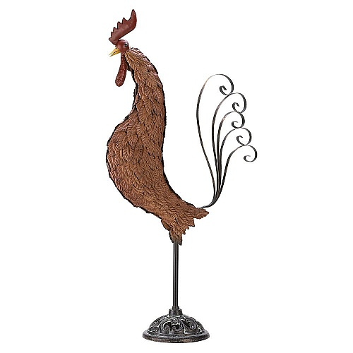 rooster wrought iron