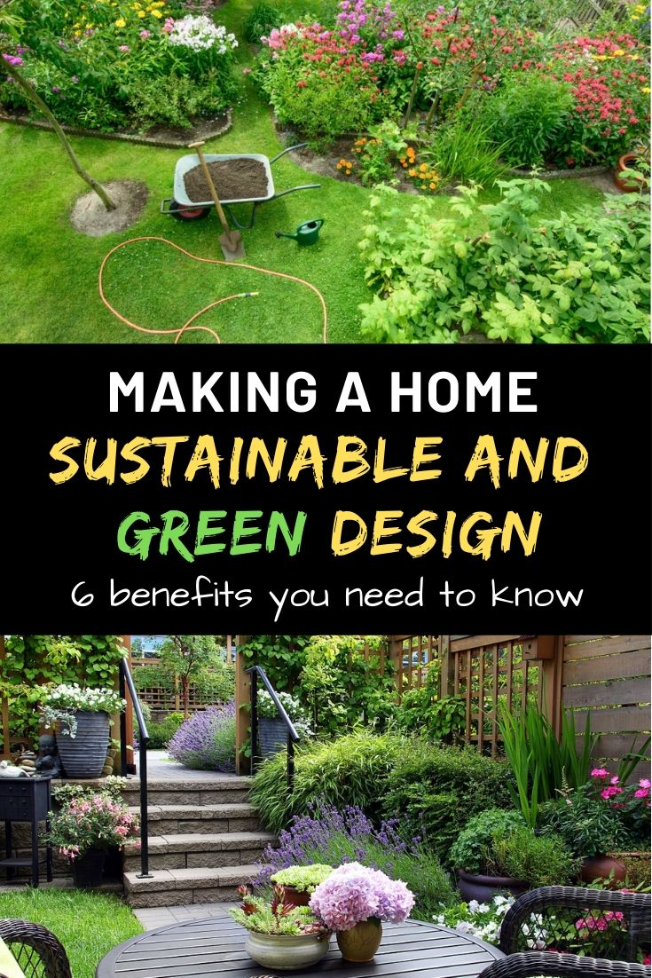 making a sustainable home and garden design