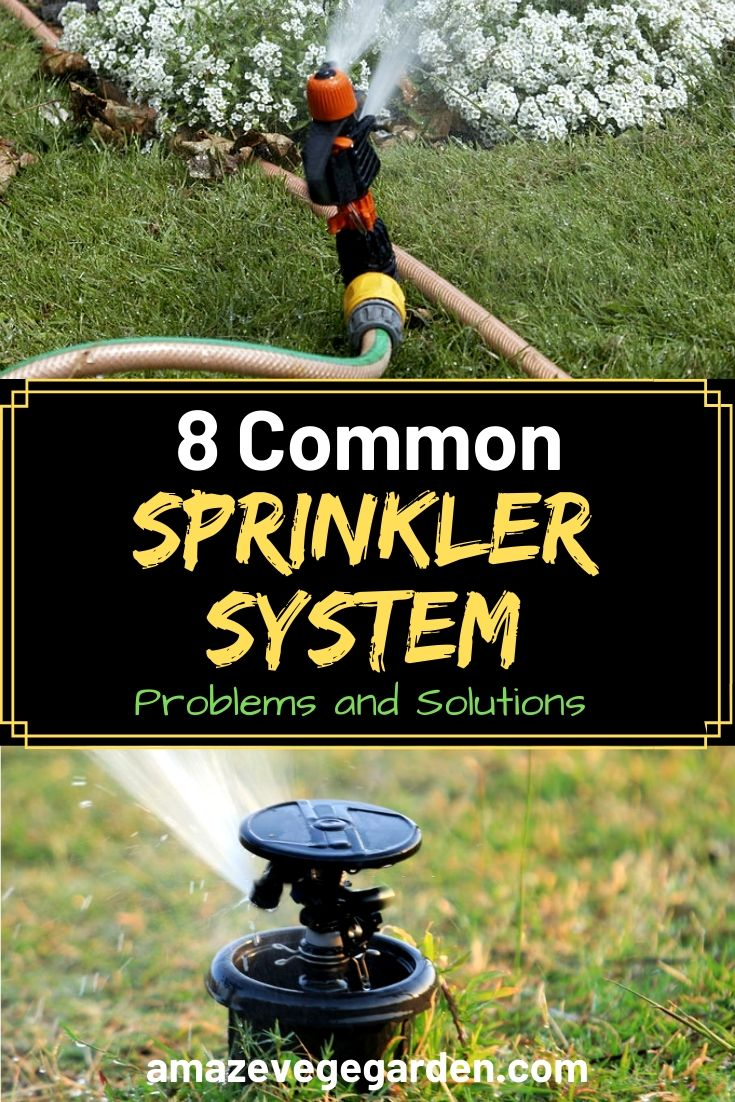 8 Common Sprinkler System Problems and Solutions