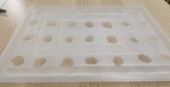 container holes